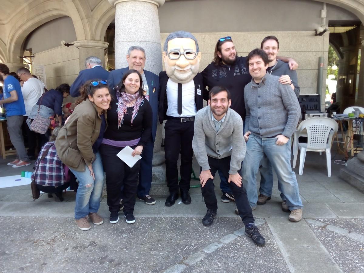 CUAC FM Ciencia na rúa 2015