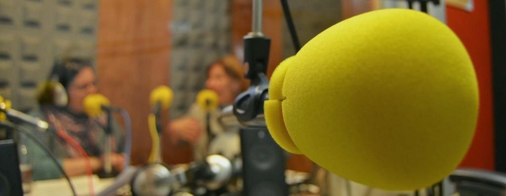 Grabación dun programa de radio