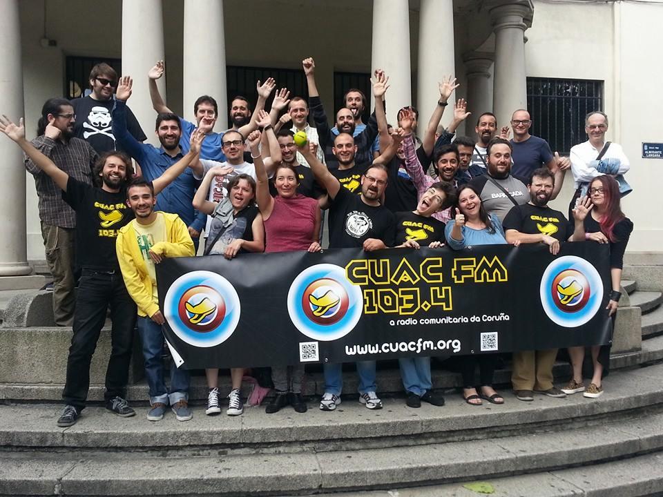 Asistentes Asamblea CUAC FM Septembro 2014