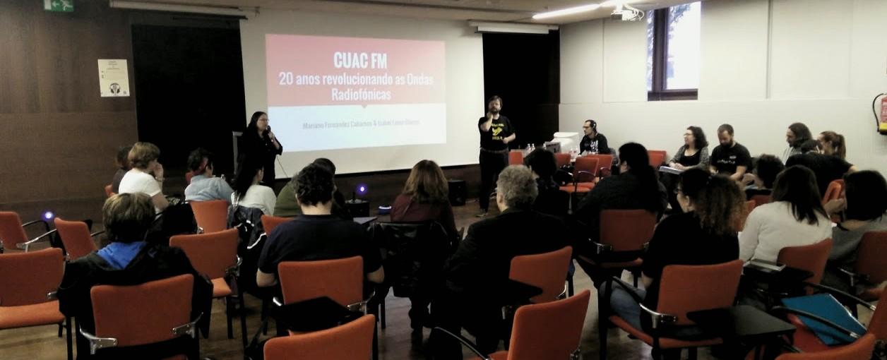 CUAC FM no Encontro de Radios Alternativas de Ourense