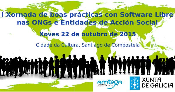 Xornada de boas prácticas con Software Libre nas ONGs entidades de acción social
